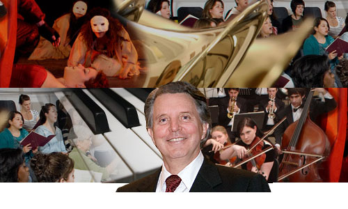 Alumnus Mike Curb supports the arts at Cal State University