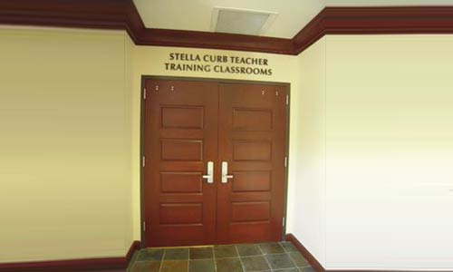 Stella Curb Teacher Development Center - The Classrooms