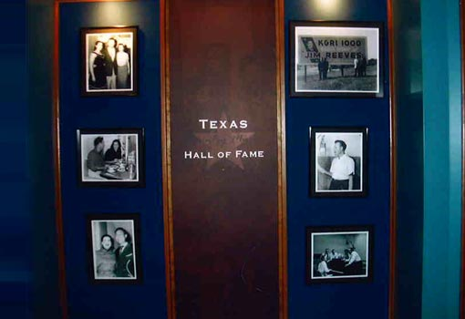 Texas  Music Hall of Fame Pics
