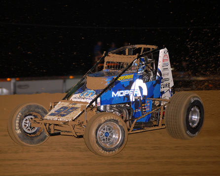 TOP 5 USAC NATIONAL SPRINT CAR CHAMPIONSHIP 2007 - Brady Bacon