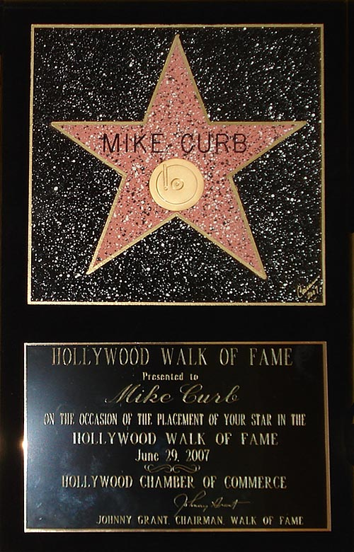 Walk of Fame Plaque - detail