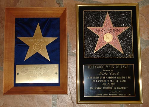 Walk of Fame Plaques